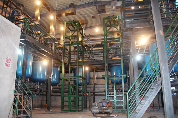 钻井助剂生产车间