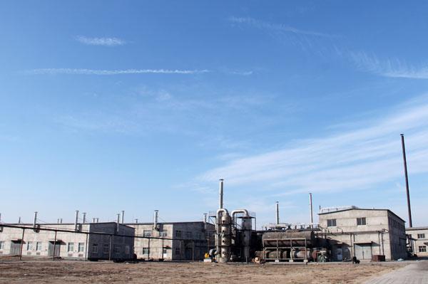 钻井助剂厂区